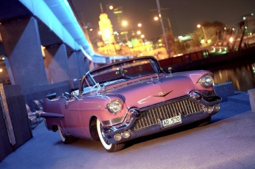 This Limousine Can Be Hired On Its Own Or As A Bridal Party Car Which Matches The 1957 Pink Cadillac Convertible Perfectly It Also Accompany Our