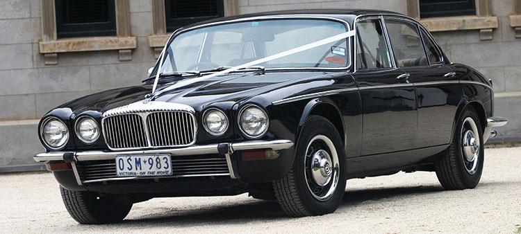 Wedding Car Association - Carwood Wedding Car Hire Black XJ