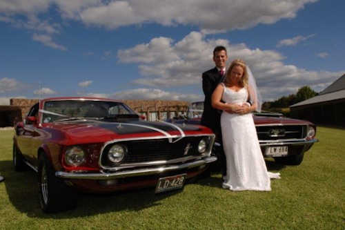 Mustang Chauffeured Cars Wedding Car Hire