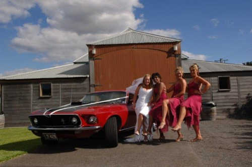 Mustang Chauffeured Cars wedding cars hire