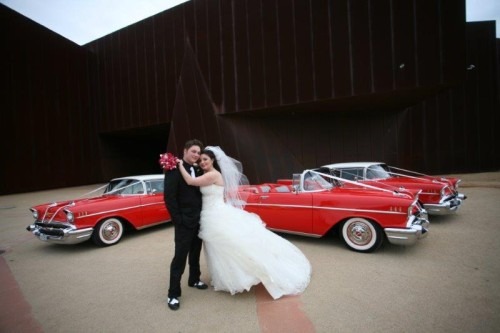 Wedding Car Association - Chevy Red Hire