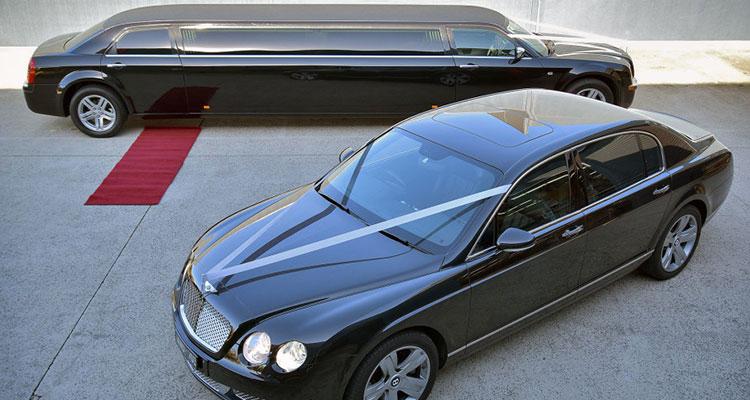 Wedding Car Association - Bentley Flying Spur Limousines
