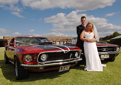 Wedding Car Association of Victoria - Mustang Chauffeured Cars