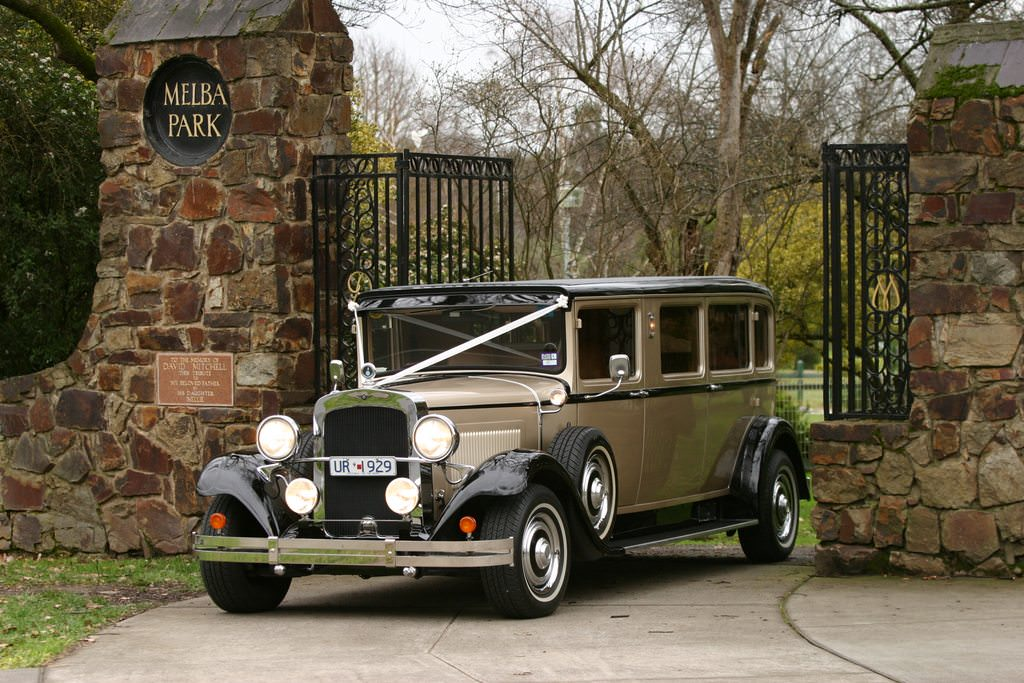 Hot rod wedding car hire