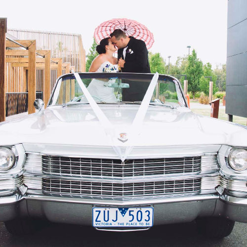 convertable wedding car hire