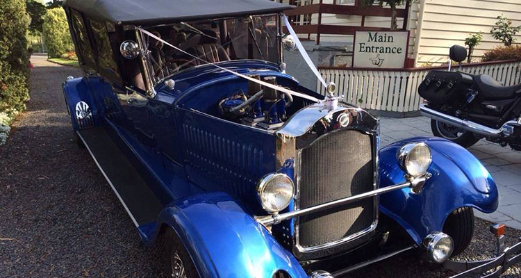 Hot Rod wedding car hire melbourne