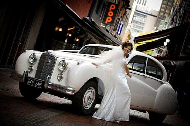jag wedding cars