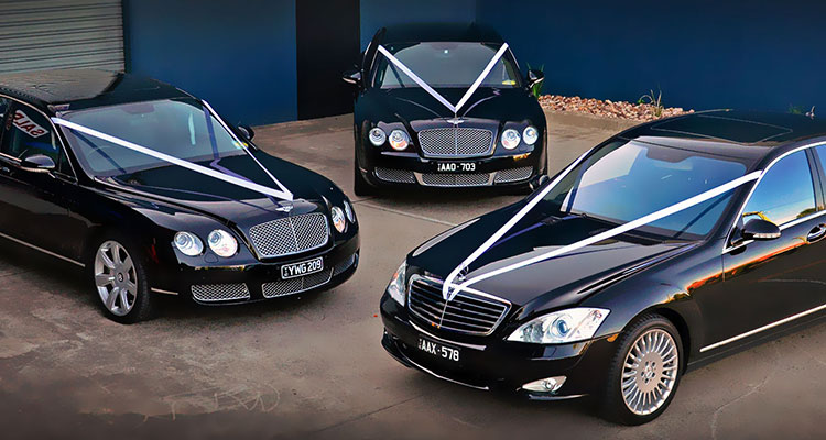 wedding car hire black