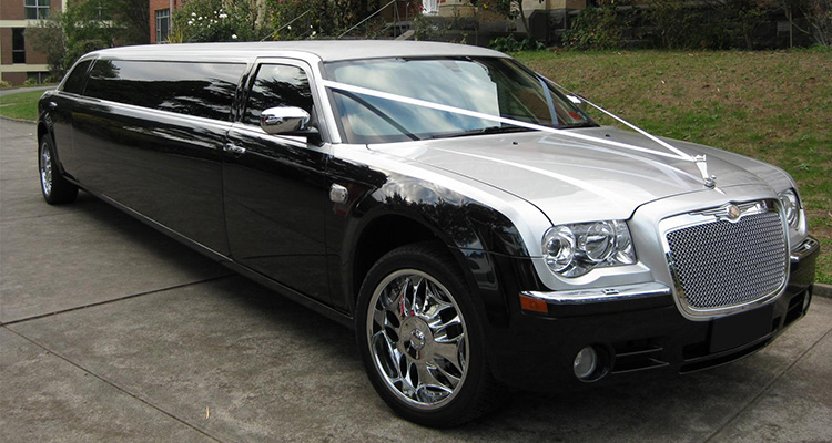 black wedding car hire