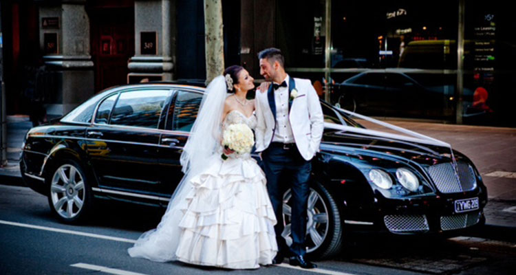 Bentley Wedding Car Hire Melbourne
