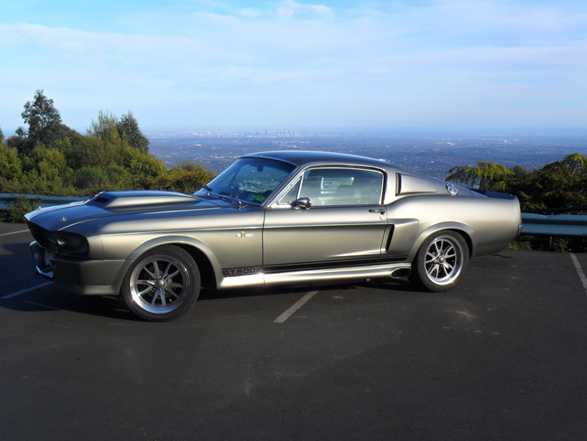 Ford Wedding Cars - Shelby Mustang Coupe GT500