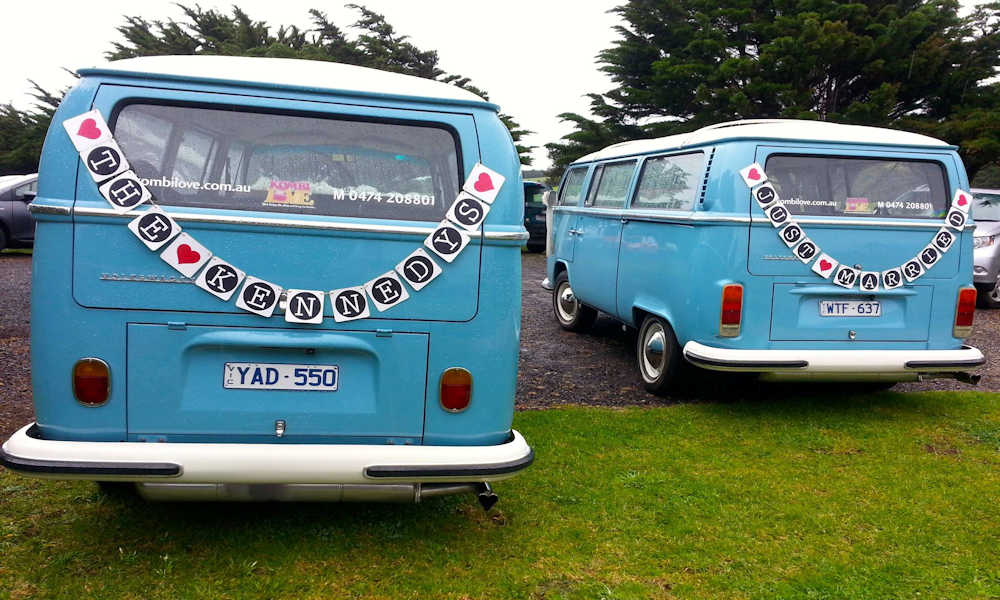 Regional Victoria Wedding Car Hire