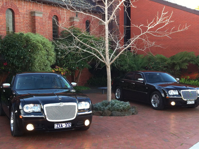 Mornington Chauffeured Limousines Toyota wedding cars melbourne