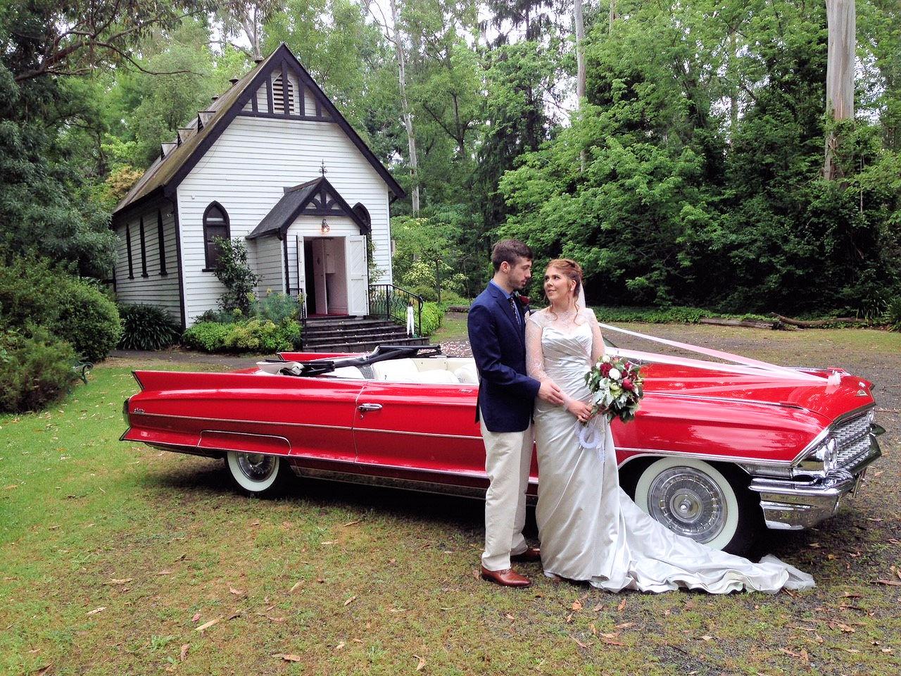 Caddyman Red Convertable Cadillac Opt